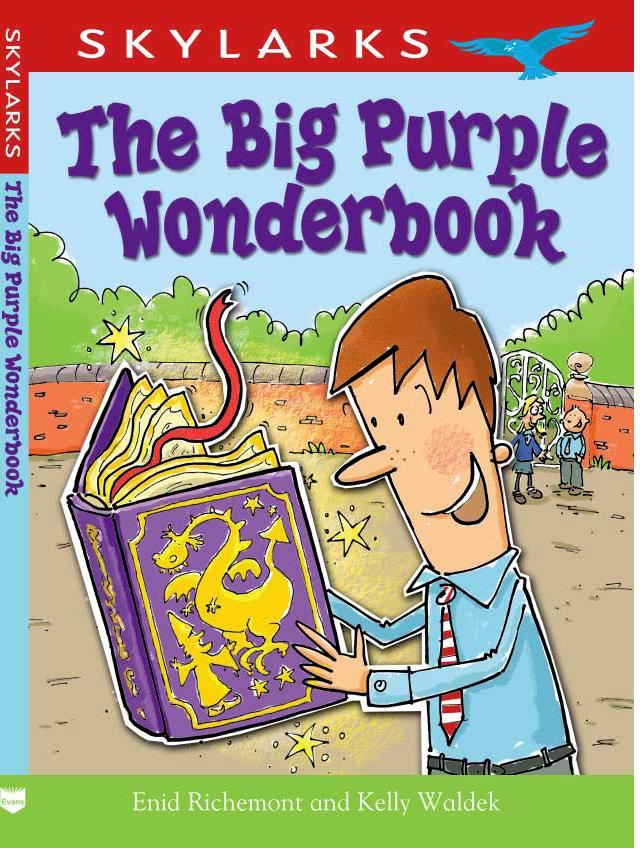 Cover image for The Big Purple Wonderbook