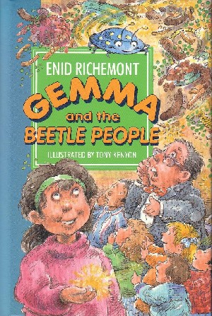 Cover image for Gemma and the Beetle People
