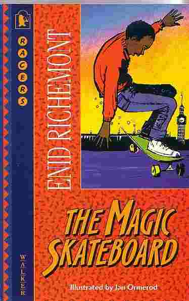 Cover image for The Magic Skateboard