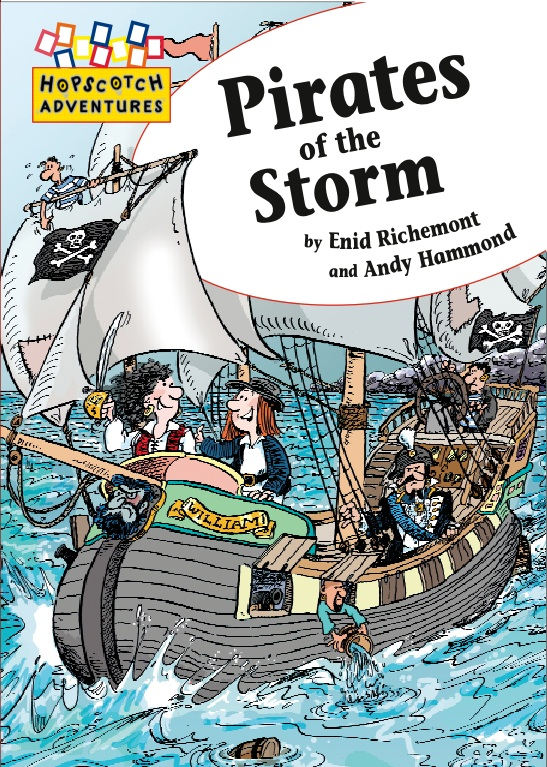 Cover image for Pirates of the Storm